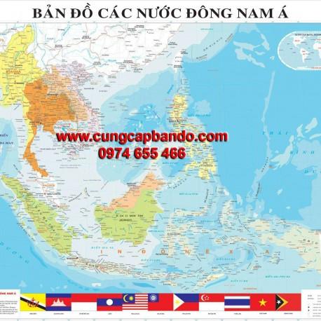 BAN DO CAC NUOC DONG NAM A – cungcapbando.com