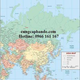 BẢN ĐỒ CHÂU Á – ASIA MAP