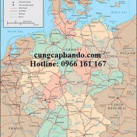 BẢN ĐỒ NƯỚC ĐỨC – GERMANY MAP