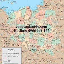 BẢN ĐỒ NƯỚC BALAN – POLAND MAP