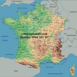 BẢN ĐỒ NƯỚC PHÁP – FRANCE MAP