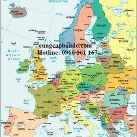 BẢN ĐỒ CHÂU ÂU – EUROPE MAP