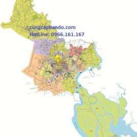 BẢN ĐỒ GIAO THÔNG TPHCM (24 QUẬN HUYỆN)