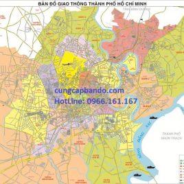 BẢN ĐỒ GIAO THÔNG TPHCM (MẪU 3)