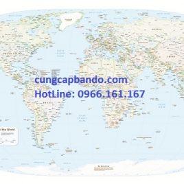 BẢN ĐỒ THẾ GIỚI (MẪU 20) – WORLD MAP (MẪU 20)