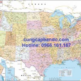 Bản đồ giao thông nước Mỹ – USA Road Map