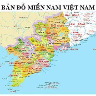 Danh sách các tỉnh miền Nam Việt Nam