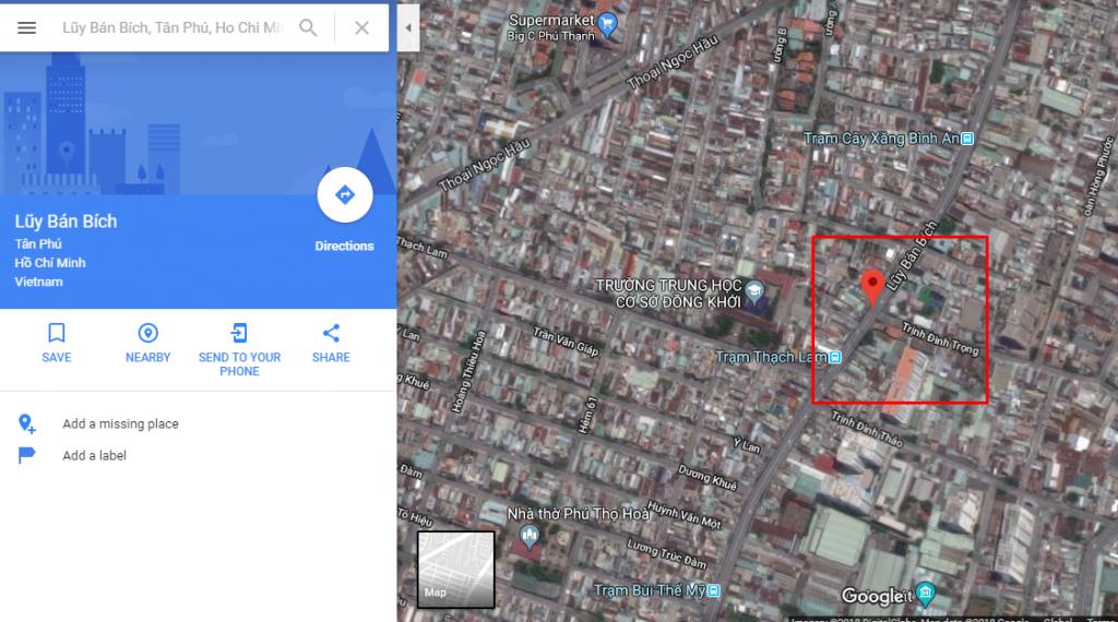 Tìm đường đi gần nhất bằng Maps Google