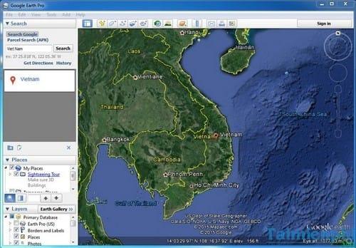Xem bản đồ thế giới trực tuyến Việt Nam