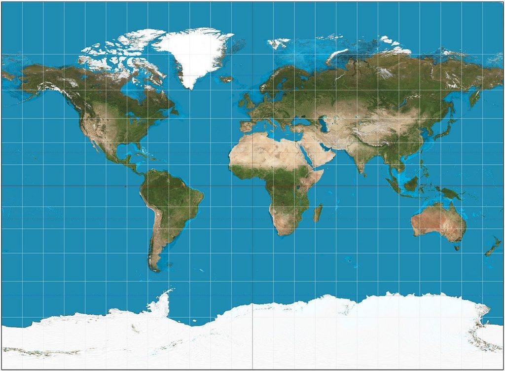 Xem bản đồ thế giới trực tuyến tốt nhất