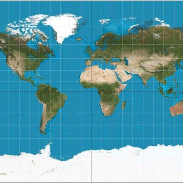 Xem bản đồ thế giới trực tuyến ở đâu chuẩn xác nhất