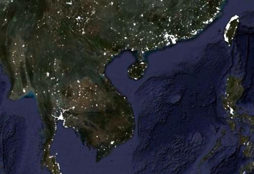 Dự báo thời tiết qua bản đồ Việt Nam vệ tinh