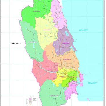 Bản Đồ Bình Định (Binh Dinh Province Vietnam Map)