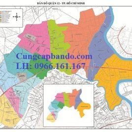 Bản Đồ Quận 12 – Thành Phồ Hồ Chí Minh