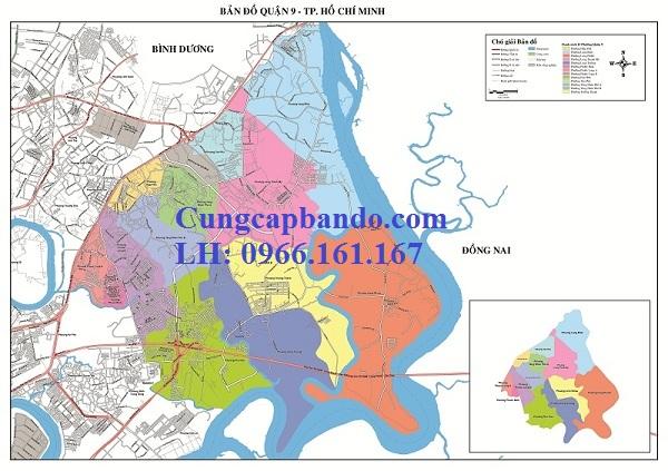bản đồ quận 9