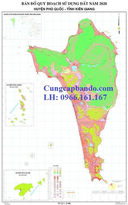 bản đồ quy hoạch phú quốc