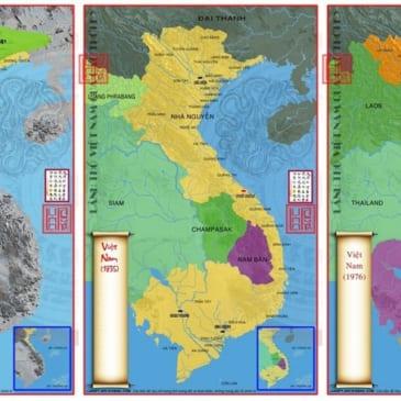 Bản Đồ Hình Thành Của Việt Nam Qua Các Thời Kỳ Lịch Sử