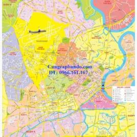 Bản Đồ Các Quận Thành Phố Hồ Chí Minh