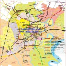 Bản Đồ Quy Hoạch Metro Thành Phố Hồ Chí Minh