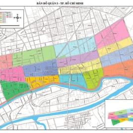 Bản Đồ Quận 5 Thành Phố Hồ Chí Minh